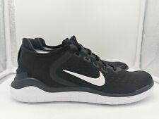 Nike Womens Free RN Run 2018 UK 3.5 Black White 942837-001