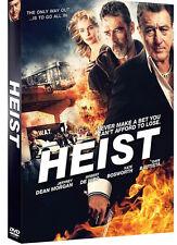 HEIST , Gina Carano, Robert De Niro, Jeffrey Dean Morgan / Region 3** DVD