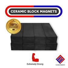 Ceramic Block Magnets Heavy Duty Strong Bar Ferrite Rectangular Square Magnets