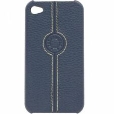 COQUE CASE IPHONE 4 4S FACONNABLE BLEU MARINE SLICONE RIGIDE (PU)