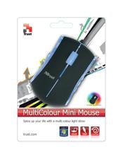 Trust Optical 7 Colour Mini Retractable USB 800 DPI Mouse Notebook Laptop MI2750