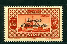 Turkey Hatay 1938, Syria France Overprint Sandjak d'Alexandrette, MLH