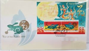Christmas Island - Year of the Rabbit 1999 - FIRST DAY COVER