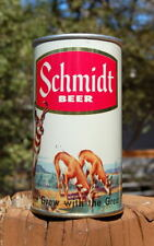 New listing Gorgeous Schmidt Series 1 Metallic Gold Zip Tab Beer Can! B/O'ed Stunner!