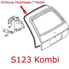 Mercedes Benz W123 Kombi Dichtung Kofferraumklappe S123 Heckdeckel Rückwandtür