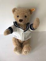 Steiff Teddy Bear Alex Holland America Cruise Ship Captain Jacket plush