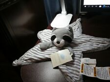 New listing Nwt Cloud Island Raccoon star shaped security blanket (Rare)