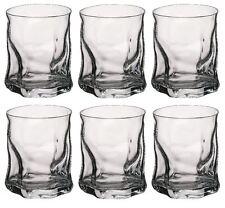 6 x Bormioli Rocco Sorgente Whisky Tumbler Glasses - 420ml (15oz)