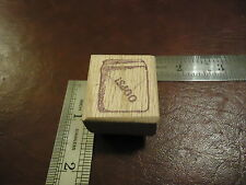 OOPS!. RUBBER STAMP QUOTES SAYINGS CUSS CURSE JAR TROUBLE CAUGHT MISTAKE PAY UP