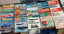 Vintage Model Airplane Magazines Misc. Titles 1973-1981 Lot of 29 Books #042