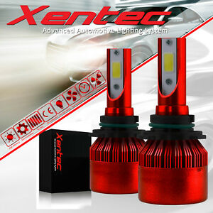 Bright 120W 12800lm LED Headlight Kit H4 HB2 9003 Hi/low beams HID 6000K Bulbs