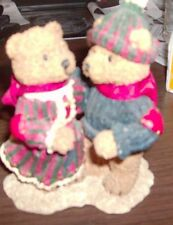 Heart Patch Place bears figurine 1996 American Greetings 1st edition Couple