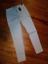 NWT Hollister Junior Girls Womens Chino Pants Size 0R Stone