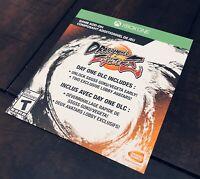 Dragon Ball FighterZ: Day One Edition DLC Slip (No Game) XBOX ONE DBZ