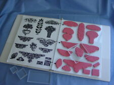ACRYLIC & UNMOUNTED STAMP STORAGE 5 SHEETS  Fed up and not sure how to mount you