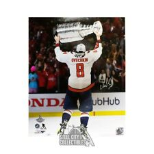 Alexander Ovechkin Autographed Washington Capitals 16x20 Photo - Fanatics (Cup)