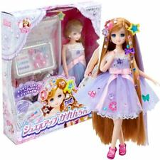 Takara Tomy Licca Rika Doll Jewellery Long Hair Princess Karen with Accessories
