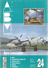 ABM N° 24 T34/76 / AVRO LANCASTER / HELLER / ETENDARD IV & CRUSADER F8 / PANZER