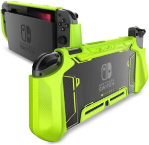Mumba For Nintendo Switch Console Joy-Con Controller TPU Grip Case Rugged Cover