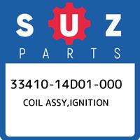 33410-14D01-000 Suzuki Coil assy,ignition 3341014D01000, New Genuine OEM Part