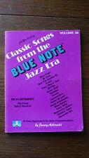 Jamey Aebersold.  Vol. 38.  'Blue Note'