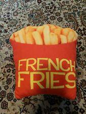 French Fries Pillow Novelty Decorative Cushion Fun 00006000 ny Realistic Soft Plush Food