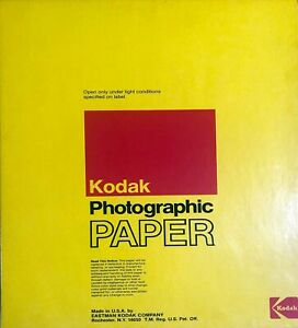 "Box of 50 - Vintage Kodak Kodabrome II RC Photographic Paper 11""x14"" Unopened"