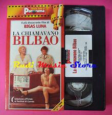 VHS film LA CHIAMAVANO BILBAO Bigas Luna Maria Martin PANORAMA (F90) no dvd