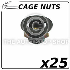 Fasteners Cage Nuts Renault Range: Master - Zoe Pack of 25 Part No: 404