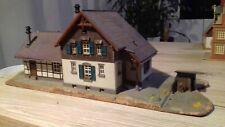 Kibri H0 Bahnhof Laufenmühle fertig aufgebaut