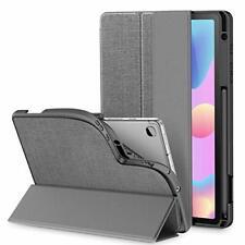 Custodia Cover per Samsung Galaxy Tab S6 Lite 10,4 2020, Grigio