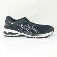 Asics Womens Gel Kayano 26 1012A457 Black Running Shoes Lace Up Low Top Size 8