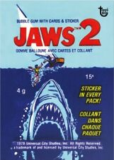 2018 Topps 80th Anniversary Wrapper Art Card #62 - 1978 Jaws 2