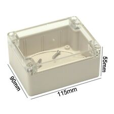 115x90x55 Cm Waterproof Electronic Project Box Clear Plastic Enclosure Cover