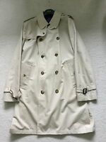 """Paul Smith LONDON COLLECTION Trench / Rain Coat / Mac Size XL Pit to Pit 24"""""""
