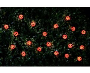 New Ladybird 30 LED Solar Powered String Lights Outdoor Garden Lighting Light