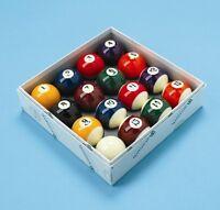 Aramith Spots and Stripes Pool Balls 2 inch UK Set - English Pool Set