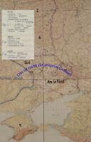 Heereskarten der Heeresgruppe Süd von Januar 1942 - Mai 1942