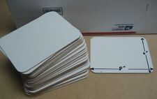 """whiteboards 6"""" x 8"""" set of (25) student individual Whiteboard/Markerboard"""