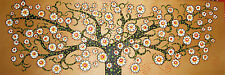Authentic  aboriginal tree painting art by jane crawford australia 210cm COA
