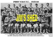 PORT VALE F.C.TEAM PRINT 1959-60 (POOLE/HALL/KINSEY)