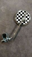 Flag Checkered Bicycle Mirror
