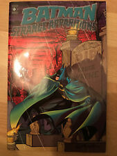 Batman Strange Apparitions dc comics Graphic Novel Paperback tpb englehart
