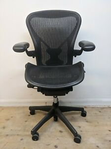 Herman Miller Aeron Office Chair with Posturefit. Fully Loaded *Free Delivery*