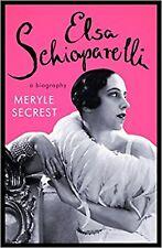 ELSA SCHIAPARELLI A Biography Meryle Secrest Fashion Clothing Design