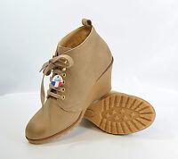 SAN MARINA Boots Gr. 39 Keilabsatz, Leder UVP 99€ Damen Schuhe (R6) 5/17 M2