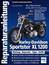 HARLEY-DAVIDSON SPORTSTER XL1200 Reparaturbuch Reparaturanleitung Handbuch Buch