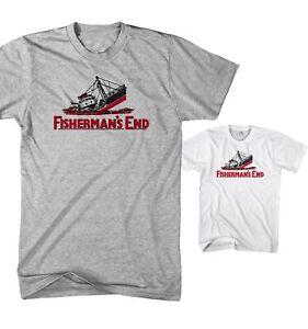 Herren T-Shirt Fishermans End - Funny Seemann Spass FE14520