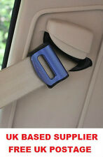AZUL FORD SEAT ADJUSTABLE SAFETY BELT STOPPER CLIP VIAJE EN COCHE 2PCS