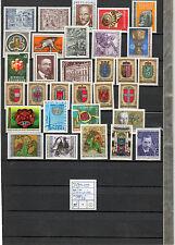 Österreich 1976 Kompletter Jahrgang Postfrisch ** MNH